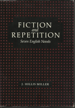 Image for Fiction And Repetition: Seven English Novels