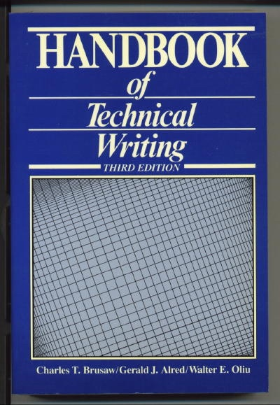 Image for The Handbook Of Technical Writing