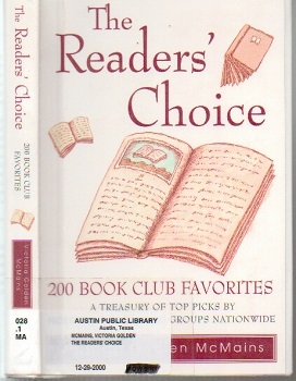 Image for The Readers' Choice, 200 Book Club Favorites