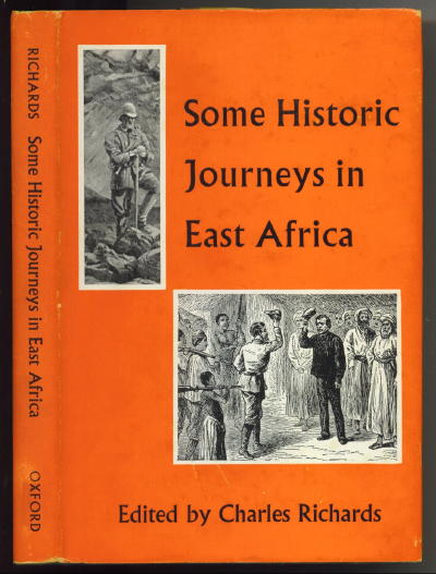 Image for Some Historic Journeys In East Africa