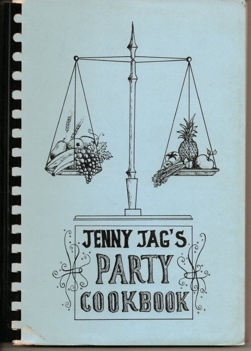 Image for Jenny Jag's Party Cookbook A Book of Favorite Recipes Compiled by the Women's Club