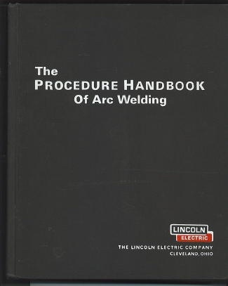 Image for The Procedure Handbook Of Arc Welding