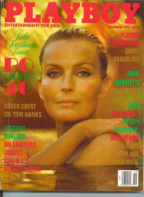Image for Playboy Magazine Entertainment For Men, December 1994, Bo Derek Gala Christmas Issue