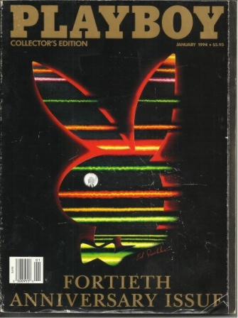 Image for Playboy Magazine, Collector's Edition Fortieth Anniversary Issue, Volume 41, No. 1, January 1994