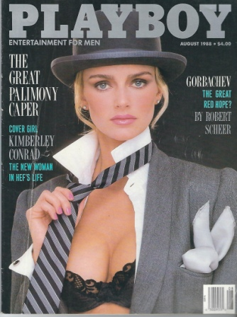 Image for Playboy Magazine, Entertainment For Men, August 1988, Kimberly Conrad