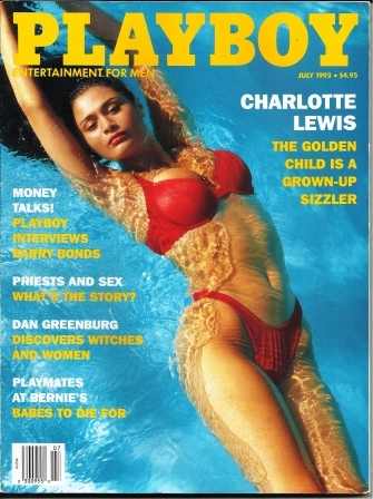Image for Playboy Magazine, Entertainment For Men, July 1993, Charlotte Lewis