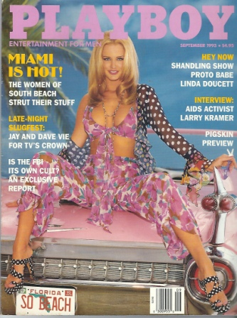 Image for Playboy Magazine, Entertainment For Men, Septermber 1993, Jennifer Driver