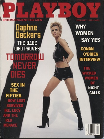 Image for Playboy Magazine Entertainment For Men, February, 1998, Daphne Deckers Playmate: Julia Schultz