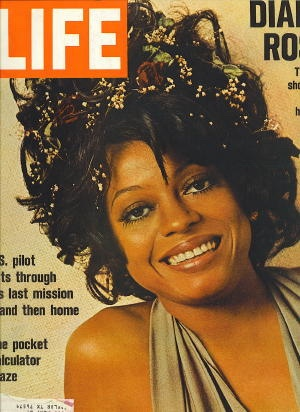 Image for Life Magazine, December 8, 1972  (Diana Ross on Cover)