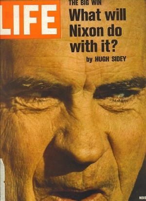 Image for Life Magazine, November 17, 1972 The Big Win What Will Nixon Do with It?