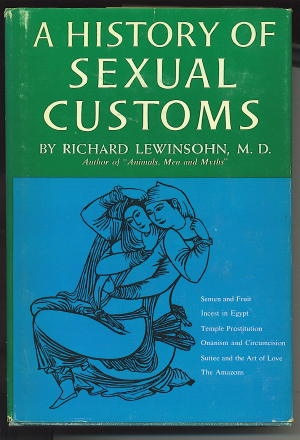 Image for A History Of Sexual Customs