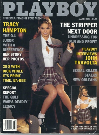 Image for Playboy Magazine, Entertainment For Men, March 1996, Amara Ann Dunae