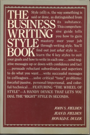 Image for The Business Writing Style Book