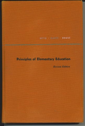 Image for Principles Of Elementary Education