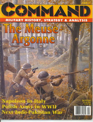 Image for Command: Military History, Strategy & Analysis, Issue 51 The Meuse-Argonne