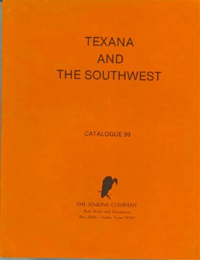 Image for Texana And The Southwest, Catalogue 99