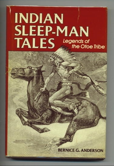 Image for Indian Sleep-man Tales Legends of the Otoe Tribe