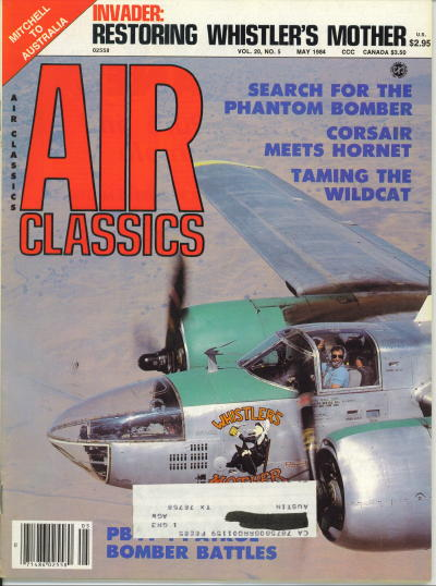 Image for Air Classics Volume 20, No. 5, May 1984