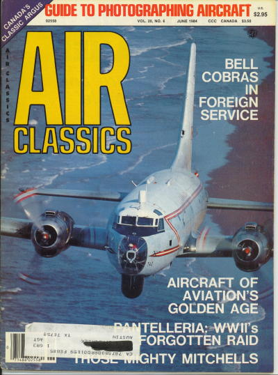 Image for Air Classics Volume 20, No. 6, June 1984