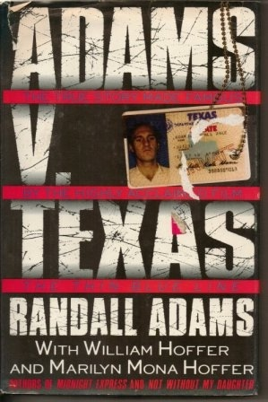"Image for Adams V. Texas The True Story Made Famous by the Highly Acclaimed Film ""The Thin Blue Line"""