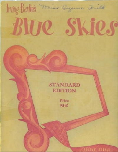 Image for Blue Skies Standard Edition
