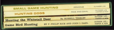 Image for Hunting The Whitetail Deer; Hunting Dogs; Small Game Hunting; Game Bird Hunting