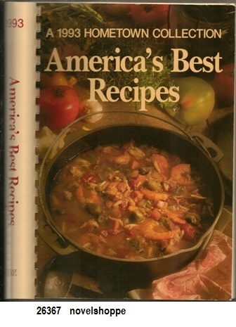 Image for America's Best Recipes: A 1993 Hometown Collection