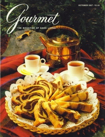 Image for Gourmet: The Magazine Of Good Living October 1987