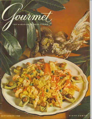 Image for Gourmet: The Magazine Of Good Living September 1960