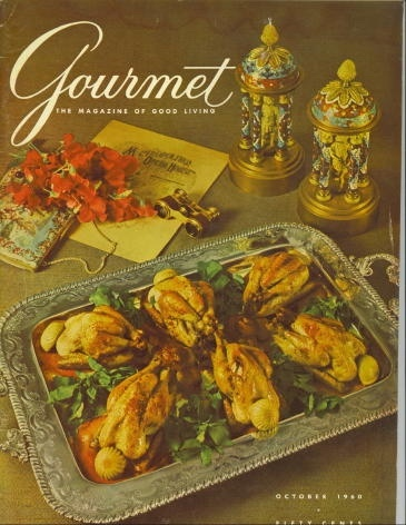 Image for Gourmet: The Magazine Of Good Living October 1960