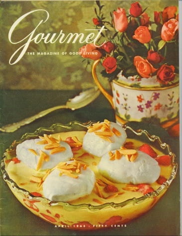 Image for Gourmet: The Magazine Of Good Living April 1965