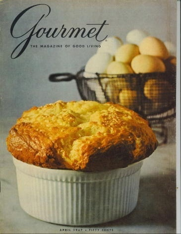 Image for Gourmet: The Magazine Of Good Living April 1967