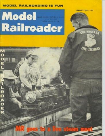 Image for Model Railroader Magazine, March 1960 (vol. 27, No. 3)
