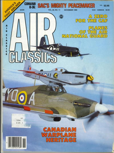 Image for Air Classics Volume 20, No. 11, November 1984