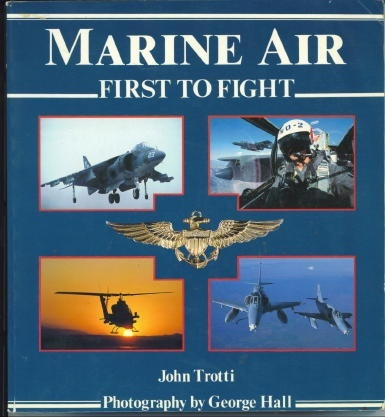 Image for Marine Air First to Fight