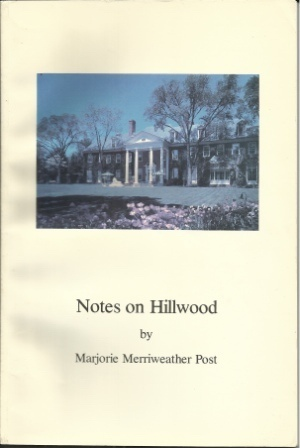 Image for Notes On Hillwood