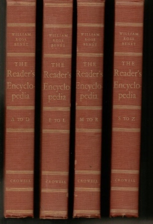 Image for The Reader's Encyclopedia, 4-volume Set An Encyclopedia of World Literature and the Arts
