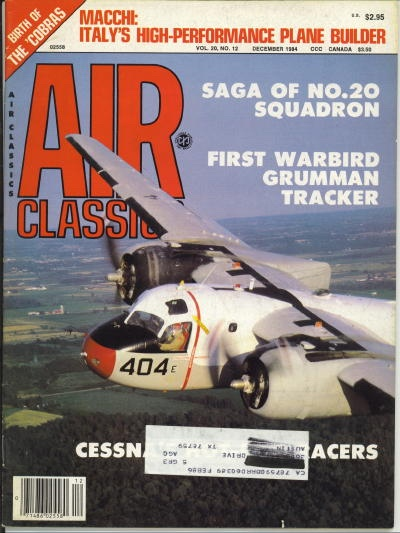 Image for Air Classics Volume 20, No. 12, December 1984