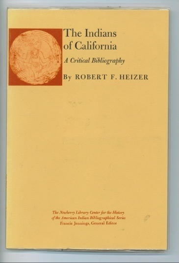 Image for The Indians Of California A Critical Bibliography
