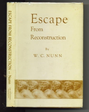 Image for Escape From Reconstruction
