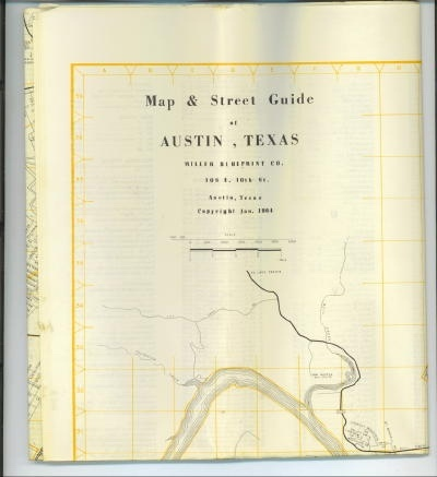 Image for Map & Street Guide At Austin, Texas, January 1964