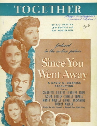 "Image for Together, Featured In The Motion Picture ""Since You Went Away"""