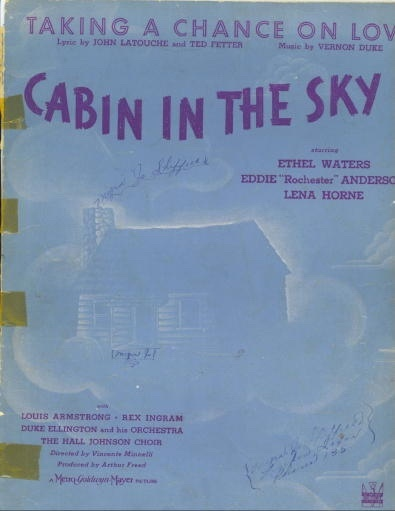 Image for Taking A Chance On Love (cabin In The Sky)