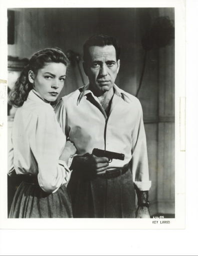 Image for Humphrey Bogart, Lauren Bacall In Key Largo