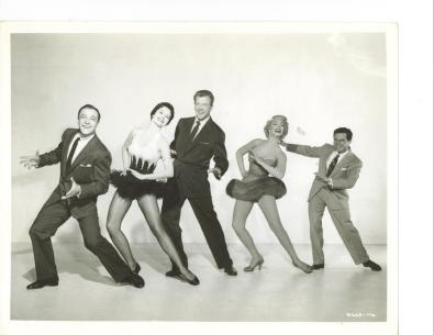 "Image for Gene Kelly, Cyd Charisse, Dan Dailey, Dolores Gray, Michael Kidel In ""It's Always Fair Weather"""