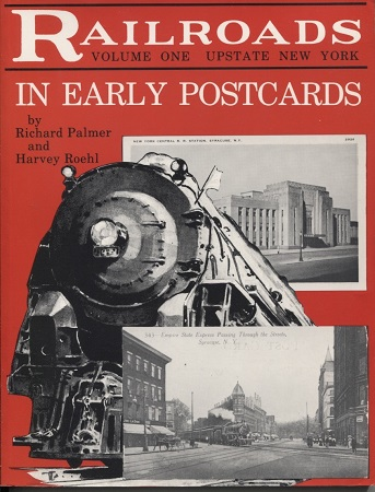 Image for Railroads In Early Postcards, Volume 1, Upstate New York