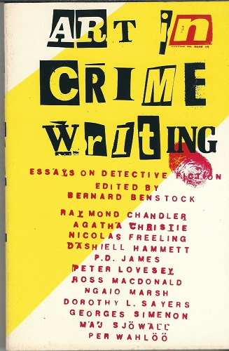 Image for Art In Crime Writing Essays on Detective Fiction