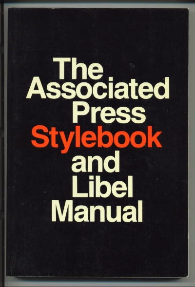 Image for The Associated Press Stylebook And Libel Manual