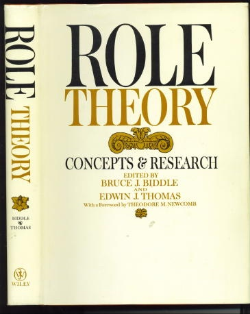 Image for Role Theory: Concepts And Research