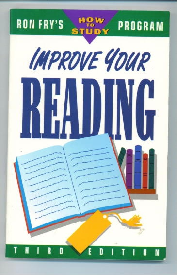 Image for Improve Your Reading Ron Fry's How to Study Program